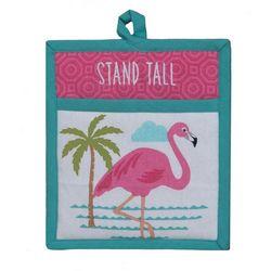 Kay Dee Designs Flamingo Stand Tall Pocket Mitt