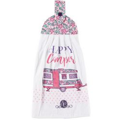 Kay Dee Designs Southern Couture Happy Camper Tie Towel