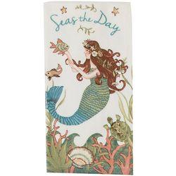 Kay Dee Designs Seas The Day Mermaid Terry Kitchen Towel