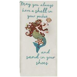 Kay Dee Designs Seas the Day Mermaid Flour Sack Towel