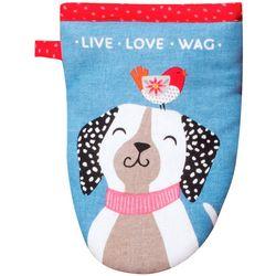 Kay Dee Live Love Wag Mini Oven Mitt