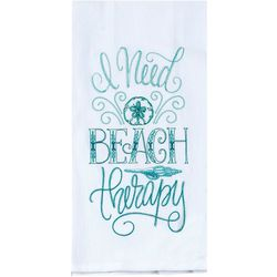 Kay Dee Designs Beach Therapy Embroidered Flour Sack Towel