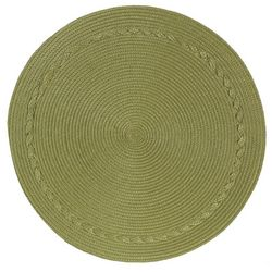 Kay Dee Designs Braided Round Placemat