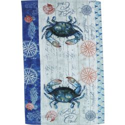 Kay Dee Designs Blue Crab Terry Towel