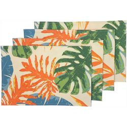 Tropic Winds 4-pc. Kona Placemat Set