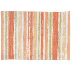 Vintage House 4-pc. Watercolor Stripe Placemat Set