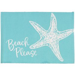 Vintage House 4-pc. Beach Please Placemat Set