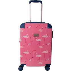 Chariot 20'' Flamingo Hardside Spinner Luggage