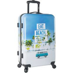 Wembley 24'' Live It Up Beach Hardside Spinner Luggage