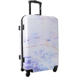 Wembley 24'' Live It Up Marble Hardside Spinner Luggage