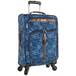 Chaps 20'' Jordane Paisley Softside Spinner Luggage
