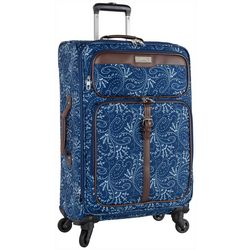 Chaps 24'' Jordane Paisley Softside Spinner Luggage