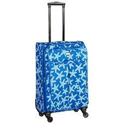 American Flyer 25'' Landis Starfish Print Spinner Luggage