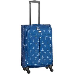 American Flyer 21'' Athenia Nautical Print Spinner Luggage