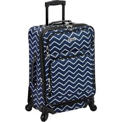 Leisure Luggage 21'' Lafayette Navy Rope Spinner Luggage