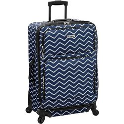Leisure Luggage 25'' Lafayette Navy Rope Spinner Luggage