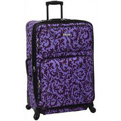 Leisure Luggage 29'' Lafayette Purple Trellis Luggage