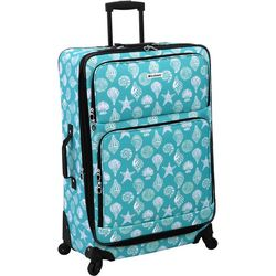 Leisure Luggage 29'' Lafayette Azure Shells Spinner Luggage