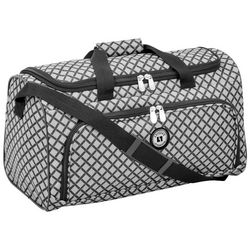Leisure Luggage 20'' Lafayette Grey Diamond Duffel Bag