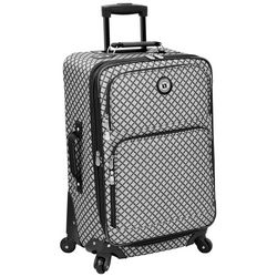 Leisure Luggage 21'' Lafayette Grey Diamond Brush Luggage