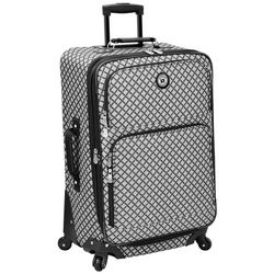 Leisure Luggage 25'' Lafayette Grey Diamond Brush