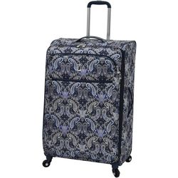 London Fog 29'' Mayfair Black & Navy Paisley Spinner Luggage