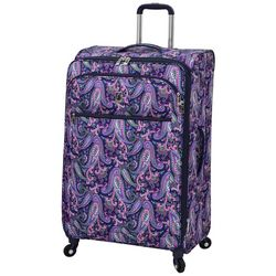 London Fog 29'' Mayfair Pink & Navy Paisley Spinner Luggage