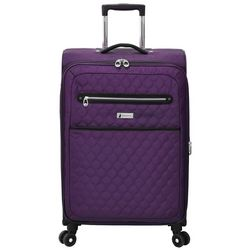 London Fog 24'' Calypso Quilted Expandable Luggage