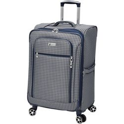 London Fog 24'' Sheffield Plaid Expandable Spinner Luggage