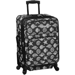 Leisure Luggage 21'' Lafayette Charcoal Shells Luggage