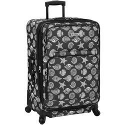 Leisure Luggage 25'' Lafayette Charcoal Shells Luggage