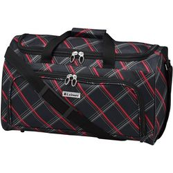 Leisure Luggage 20'' Lafayette Red Diamond Duffel Bag