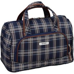 Quest 16'' Constellation Navy Plaid Cabin Bag