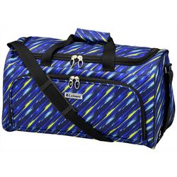 Leisure Luggage 20'' Lafayette Blue Paint Brush Duffel Bag