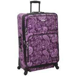 Leisure Luggage 29'' Lafayette Purple Paisley Luggage
