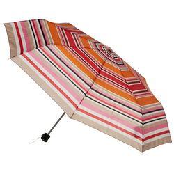 Misty Harbor Stripe Print Manual Open Umbrella