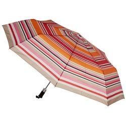 Misty Harbor Stripe Print Auto Open Umbrella