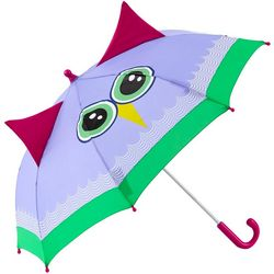 ShedRain Kid's Beatrice Owl Character Stick Umbrella