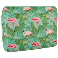 Coastal Haven Flamingo & Palm Multi-Purpose Travel Pillow