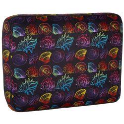 Sutton Colorful Sea Shell Square Travel Pillow