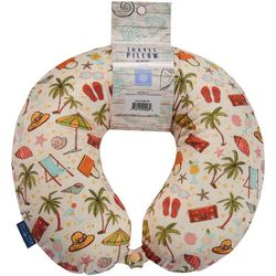 Sutton Beach Icon Travel Pillow