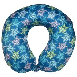 Sutton Blue Sea Turtle Travel Pillow