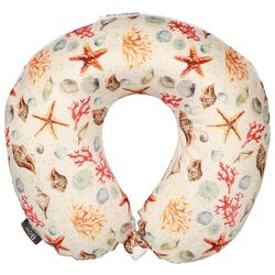 Sutton Ivory Sea Shell Travel Pillow