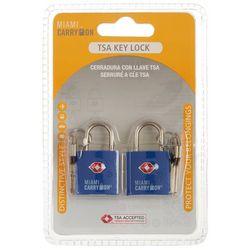 Miami Carry On 2-pc. TSA Key Lock Set