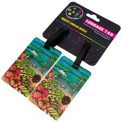 Miami Carry On 2-pc. Life Is A Beach Luggage Tag Set