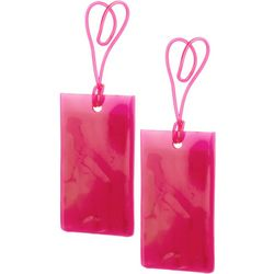 Miami Carry On 2-pc. Jelly Luggage Tag Set