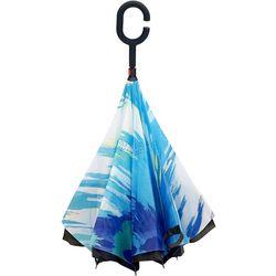 Topsy Turvy Pastel Umbrella