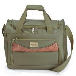 Caribbean Joe 16'' Olive Weekender Bag