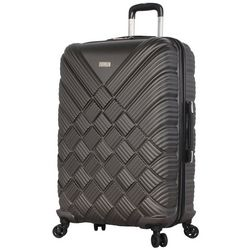 Nicole Miller New York 28'' Basket Weave Spinner Luggage