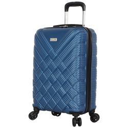 Nicole Miller New York 20'' Basket Weave Spinner Luggage